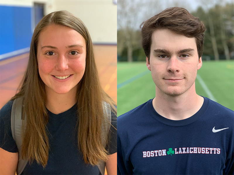Liston, Boyle earn Athlete of the Week honors