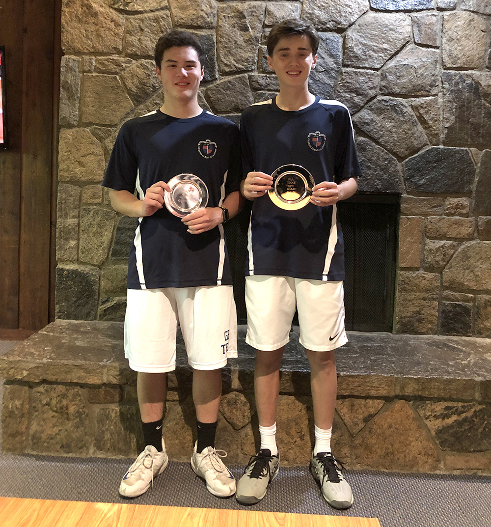Dragons doubles team places second in FAA tournament