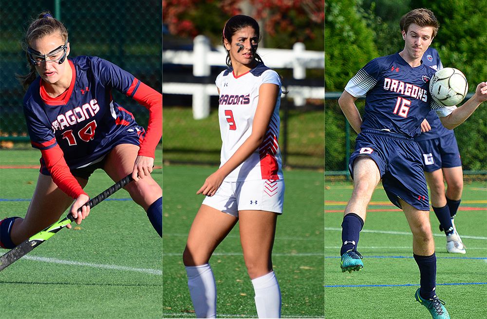 Twenty-seven Dragons honored with All-FAA, All-New England awards