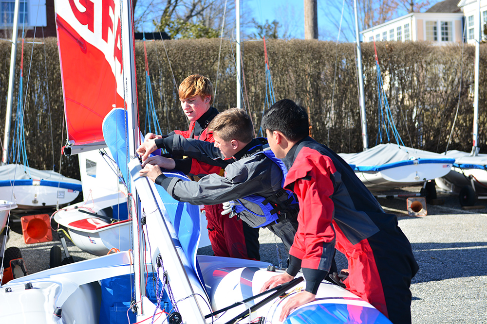 Sailing Team Surges to the Next Level