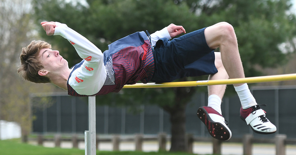 GFA's Northrop places second at New Englands in high jump