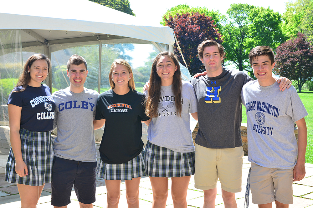 Six Athletes Take Their Games to College